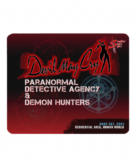 Devil May Cry Dante's Demon Hunters Shop PC Laptop Mouse Mat